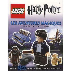 LIVRE JEUX ACTIVITÉS LEGO Harry Potter : les aventures magiques