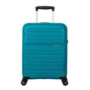 VALISE - BAGAGE Valise cabine rigide 8 roulettes Sunside American