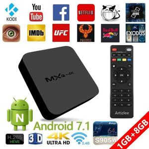 BOX MULTIMEDIA TV Box - Artizlee® Décodeur Multimédia Boîtier 4K