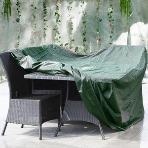 HOUSSE MEUBLE JARDIN  Housse de Protection Table de Jardin Rectangulaire