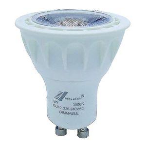 AMPOULE - LED GU10 ampoule LED COB 5 W Spot à variateur d'intens