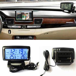 VOITURE - CAMION Thermomètre LCD Thermomètre LCD pour véhicule auto