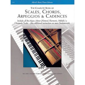 PARTITION Scales, Chords, Arpeggios & Cadences - Complete Bo