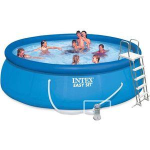 PISCINE INTEX Kit piscine autoportée Easy Set - 457 x 122