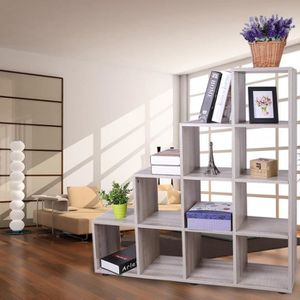 biblioth que etag re cube achat vente biblioth que etag re cube pas cher soldes. Black Bedroom Furniture Sets. Home Design Ideas