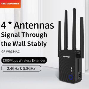 POINT D'ACCÈS COMFAST WR754AC Répéteur Wifi 1200 Mbps double ban