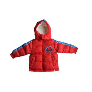 MANTEAU - CABAN manteau doudoune spiderman rouge