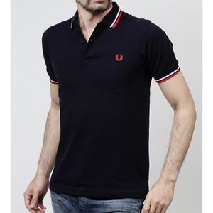 POLO Polo Fred Perry Slim Fit manches courtes pour homm