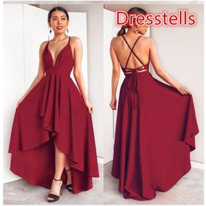 7d3eaf9b2a7 ROBE Dresstells Robe Femme soirée Cocktail Bal High Low