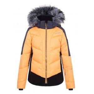 BLOUSON DE SKI Icepeak Leal abricot, veste de ski fille.
