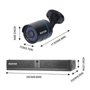 CAMÉRA DE SURVEILLANCE 8PCS - SET 8CH Système de caméra HD 720P DVR Systè