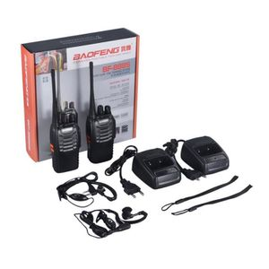 TALKIE-WALKIE 2 PCS de Baofeng talkie-walkie EU plug BF-888S rec