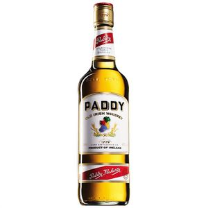 WHISKY BOURBON SCOTCH Paddy - Blended Irish Whiskey - 40% - 70cl)