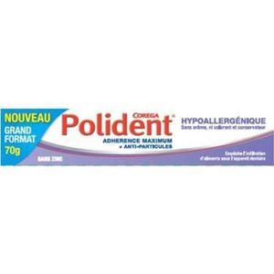 BAIN DE BOUCHE POLIDENT Crème adhésive hypoallergénique - 70 g