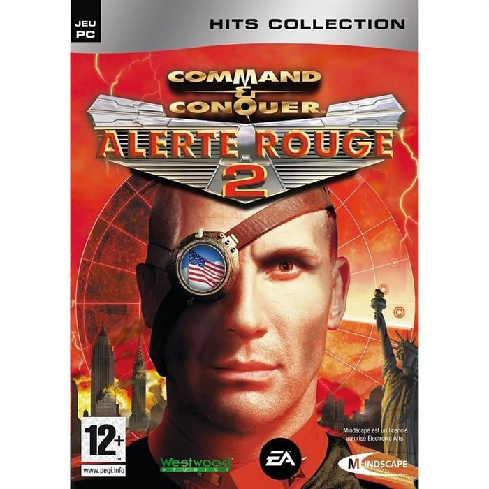 command conquer alerte rouge 2 pc cd rom achat vente jeu pc command conquer alerte. Black Bedroom Furniture Sets. Home Design Ideas