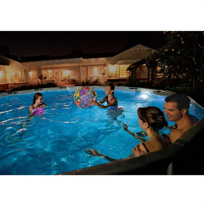 Spot de piscine intex led magn tique achat vente for Montage piscine intex