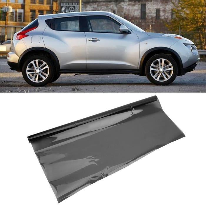 Film de verre teinté pour vitres de voiture anti-usure 50 * 100cm Film de protection solaire isolant thermique (35%)-CER