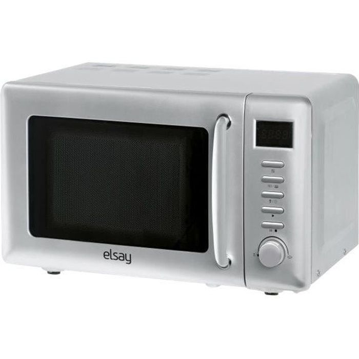 Elsay 20UG80-L Four micro-ondes grill pose libre 19 litres 700 Watt blanc