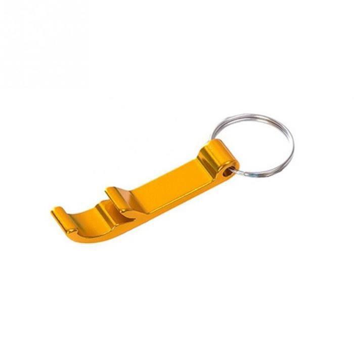 Tire-bouchon Portable décoration facile à transporter - Ouvre-porte-clés, Mini ouvre-bouteille de bi - Modèle: Golden - WMKPQA08550