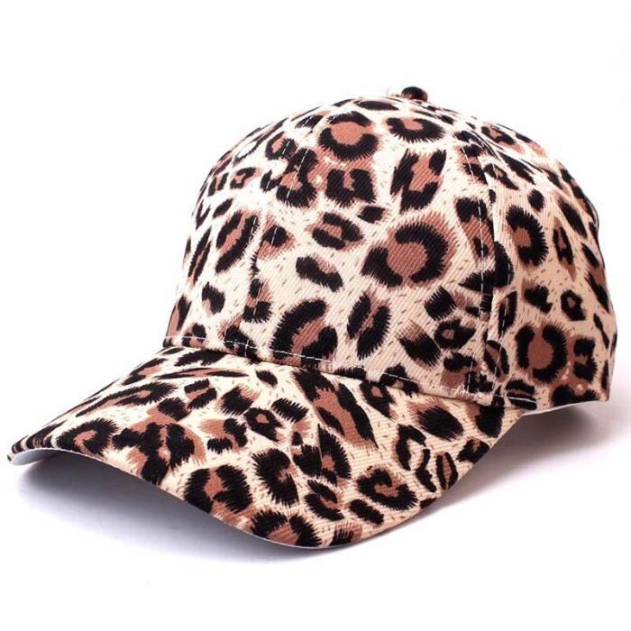 2 -Casquette de Baseball léopard pour hommes femmes - Casquettes de Hip Hop en coton, casquette de danse de pause, chapeau décontrac