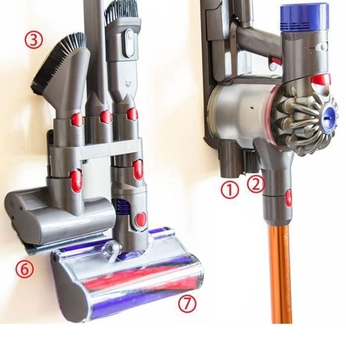 Absolute Brosse Support Outil Buse Base titulaire Docks Station Accessoires compatible pour Dyson V7 V8 V10 Aa30086