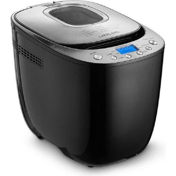 Lakeland 62168 Machine à pain numérique 550W Noir