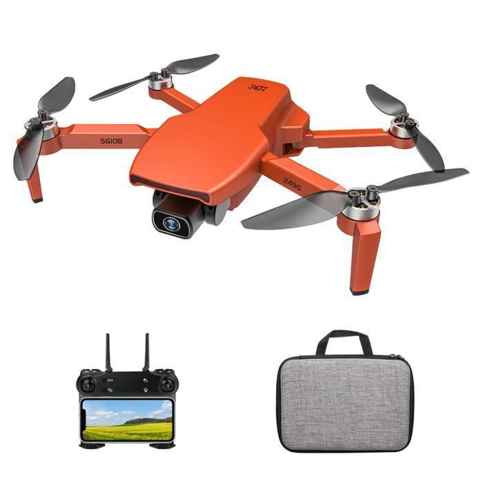 SG108 Drone RC avec caméra 4K Sans balais Double Caméra 5G WiFi FPV GPS Positionnement du flux optique Geste Photo Vidéo
