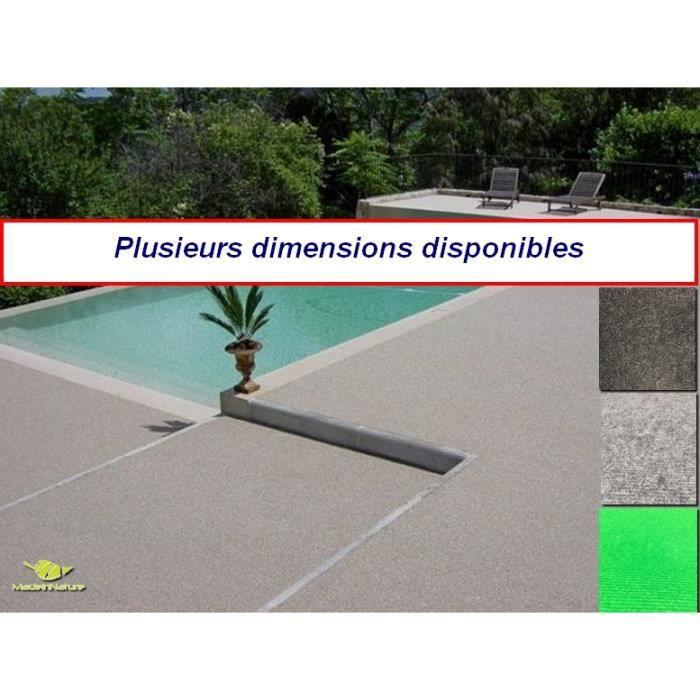 Moquette d'extérieur - dimensions & couleurs au choix - tapis artificiel idéal pour terrasse, piscine, balcon ...- revêtement de sol