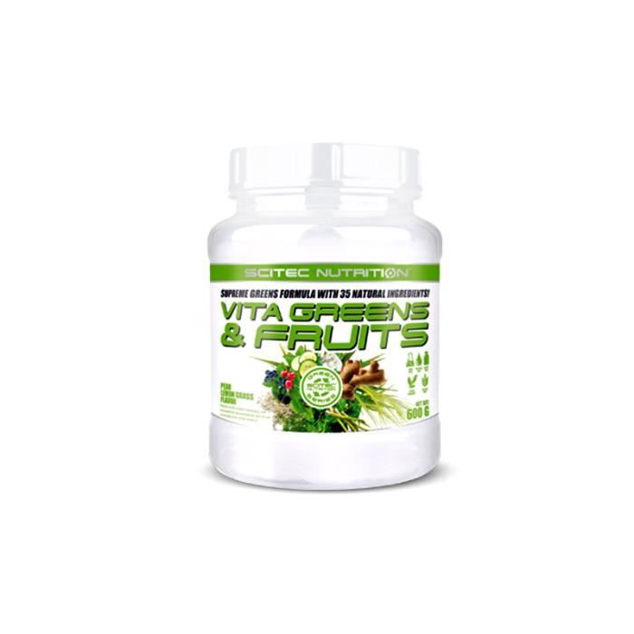 Vita Greens & Fruits Scitec Nutrition 600g Poire Citronnelle