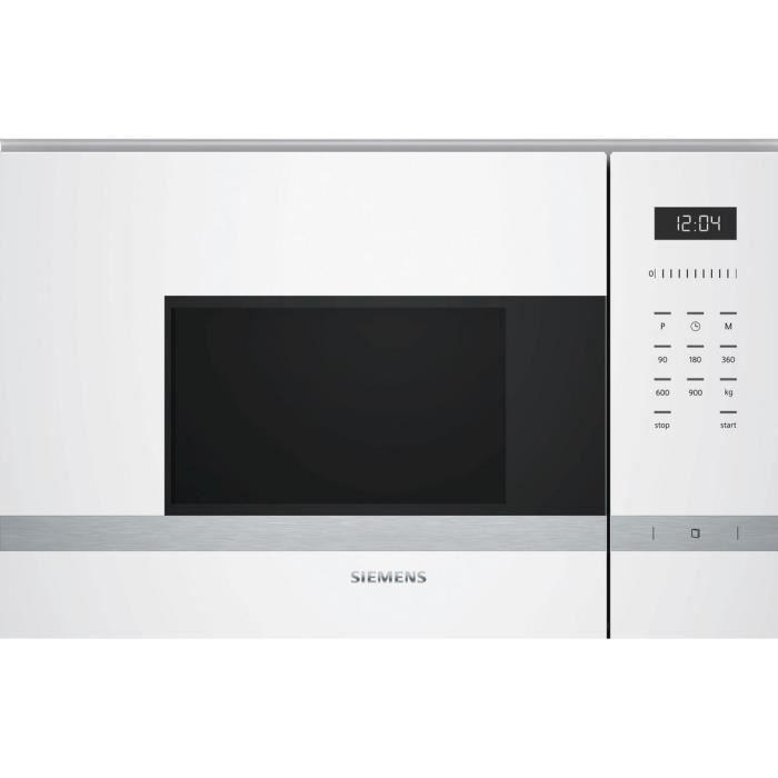 Siemens - micro-ondes 25l 900w - bf555lmw0