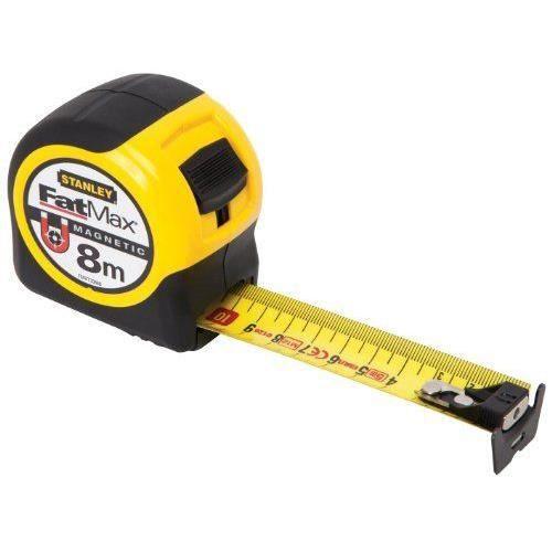 STANLEY Ruban à crochet magnétique - 8m x 32mm