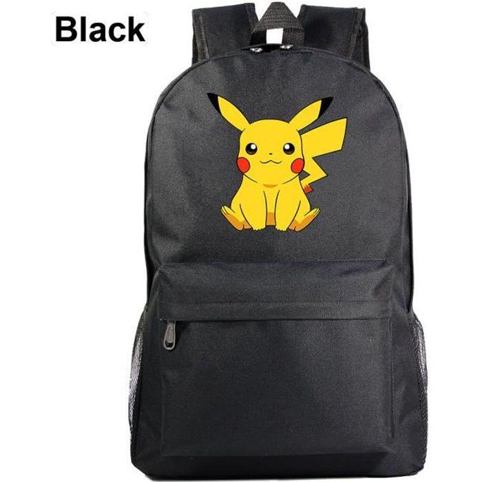 MOBIGARLAN Sac à Dos - Sac d'École cartable étudiant Pokemon Pikachu imprimé pour enfant adolescent modèle 29
