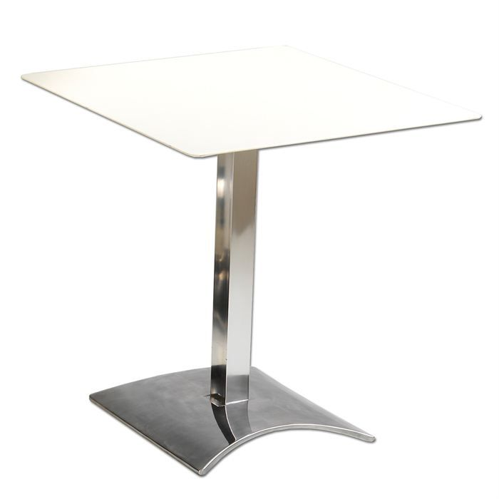 Table int rieur bistrot carr ego achat vente mange debout table int rieur bistrot cdiscount - Table bistrot carree ...