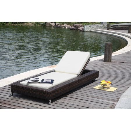 bain de soleil en r sine tress e avec roulette achat vente chaise longue bain de soleil en. Black Bedroom Furniture Sets. Home Design Ideas