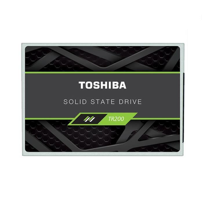 DISQUE DUR SSD Toshiba OCZ TR200 Disque dur interne SSD - 480 Go