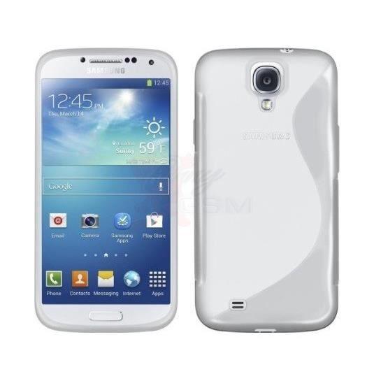Coque gel pour Samsung Galaxy S4 Mini Transparent