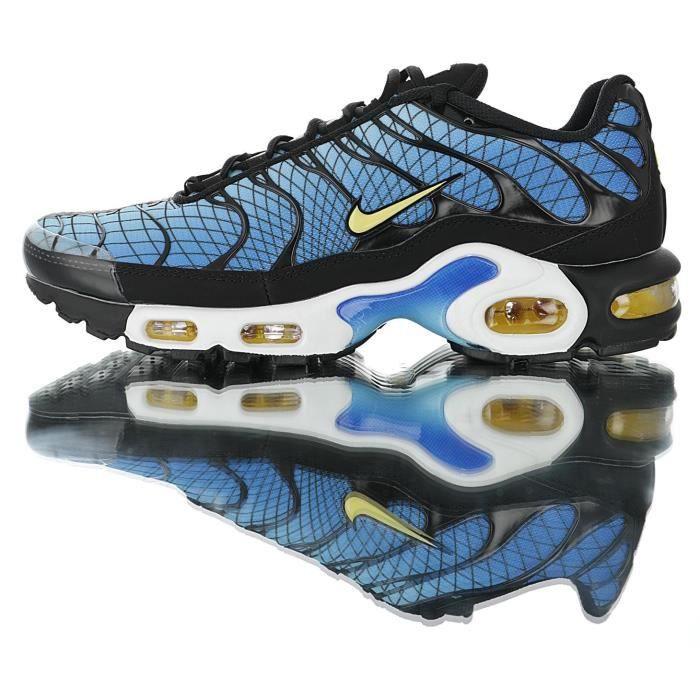 Nike Baskets Air Max TN Plus Chaussures de Course homme bleu Bleu ...