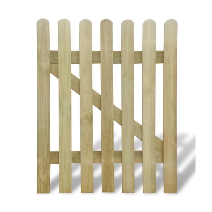 Portillon bois jardin bricoman 28 images jardin for Portillon jardin 1m50