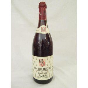 VIN ROUGE caveau bugiste tradition gamay rouge 2000 - bugey