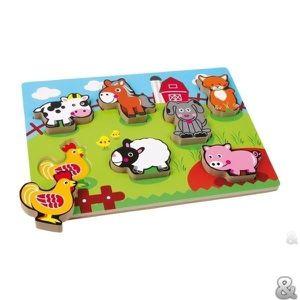 PUZZLE Legler - Puzzle  «Animaux de ferme»