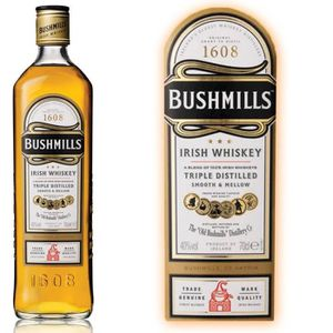 WHISKY BOURBON SCOTCH Bushmills Original - Blended Irish Whiskey - 40% -