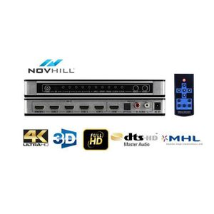 REPARTITEUR TV Novhill 5x1 HDMI Commutateur Répartiteur switch 3D