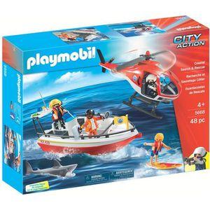UNIVERS MINIATURE Playmobil 5668 : City Action : Recherche et sauvet