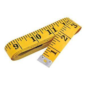 """1pcs corps Measuring Ruler coudre Tissu Tailleur Ruban à mesurer souple plat 60/""""//150 cm"""