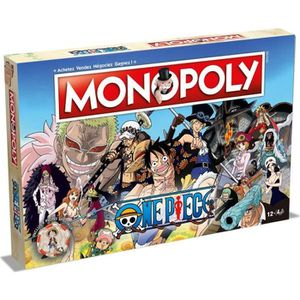 JEU SOCIÉTÉ - PLATEAU MONOPOLY One Piece - Version française