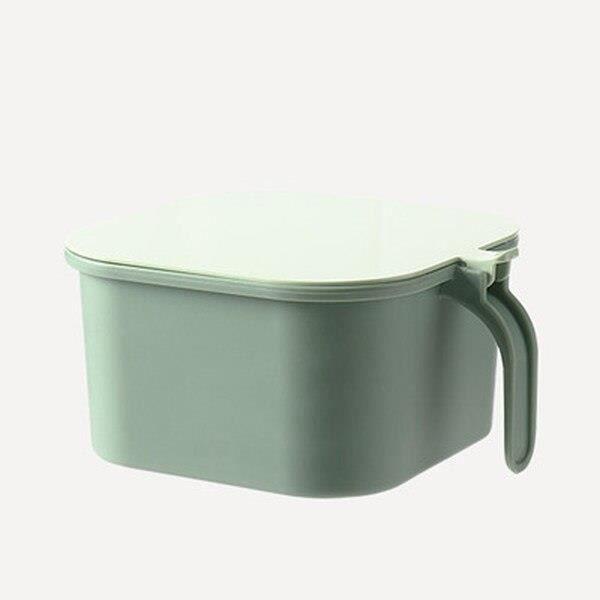 boîte de rangement des épices de cuisine à 4 grilles, avec cuillère, ensemble sel et poivre, récipient à épices, [24006B5]