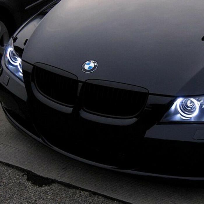 Cikuso 2 x Marker//Angel Eyes LED bulb 7000K White Halo Ring Light for BMW E90 E91