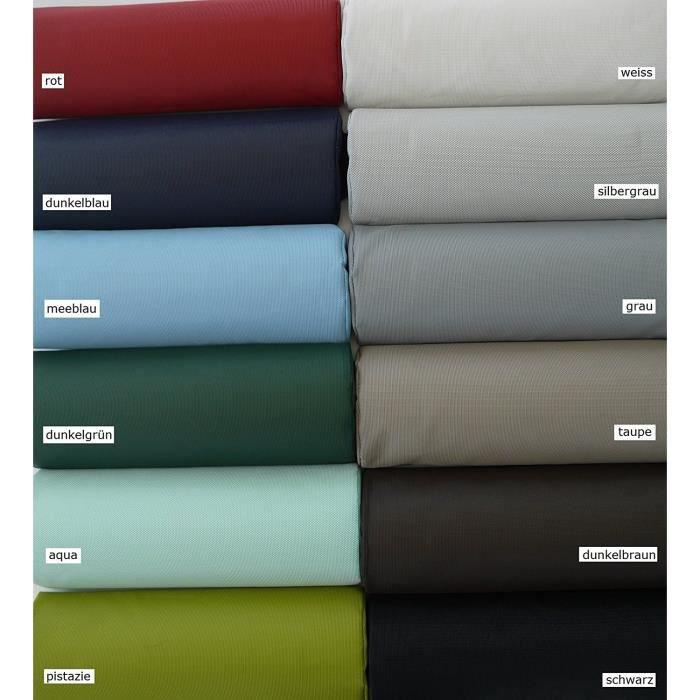 Jan kurtz amigo chaise longue taupe, aluminium, textilène (fibres de polyester gainées de pVC) imperméable et anti-uv bleu pi 587