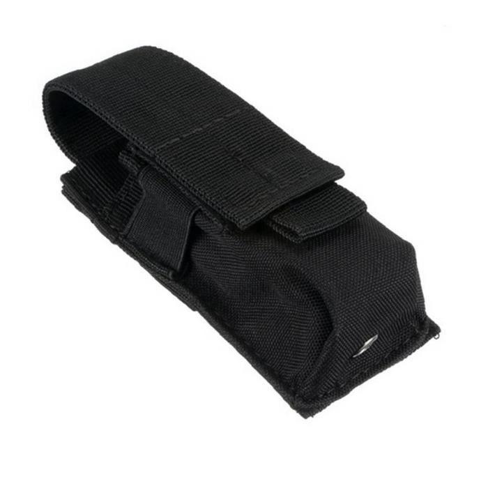 Pochette de téléphone portable Pochette Smartphone tactique Pochettes EDC Cellphone Case Molle Gadget Sac Molle Fixation Titulaire T