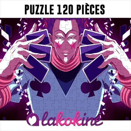 Puzzle 120 Pièces Hisoka Hunter X hunter anime